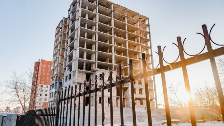 Власти обследовали долгострой на Толмачёва. Сдать его должны в течение трех лет