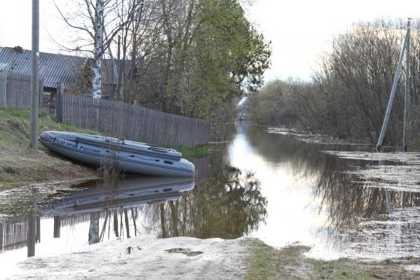 На данный момент подтопления сохраняются в нескольких районах области