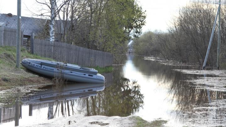 «Перелитый участок М8 — без воды»: в МЧС рассказали о ситуации с паводком в Архангельской области