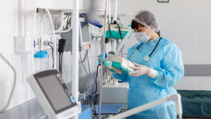 В Прикамье перевыполнили план по оснащению кислородом коек для пациентов с коронавирусом