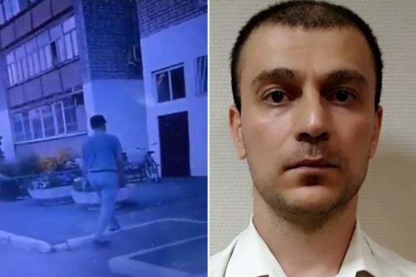 Подозреваемого в совершении насилия над ребенком сняла камера видеорегистратора