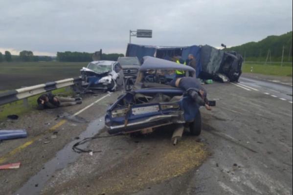 Трагедия произошла на трассе Красноярск — Канск