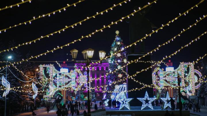 Уфа ламповая: 30 ярких моментов, которые манят на прогулку по новогодним улицам