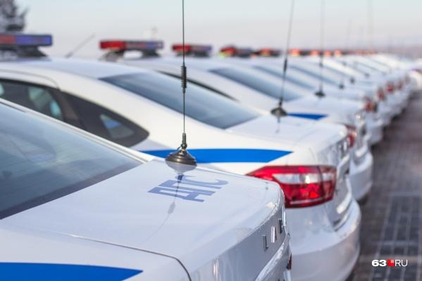 Стоянка будет рассчитана на 555 полицейских машин