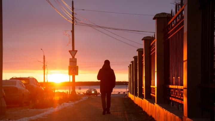 Ждем мощный атлантический циклон: за выходные в Архангельской области существенно потеплеет