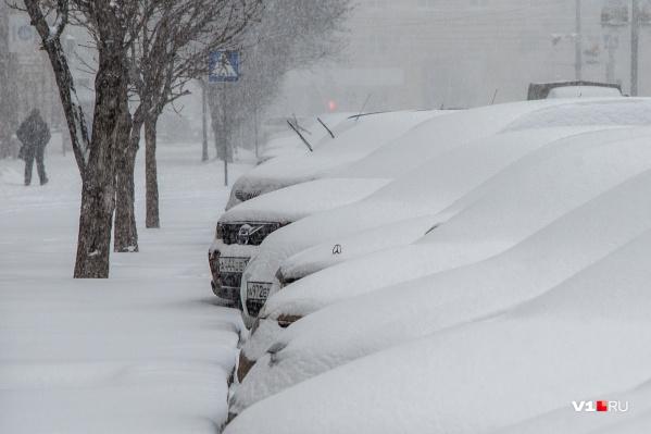 Снег обещают в ближайшие выходные, но пролежит он недолго