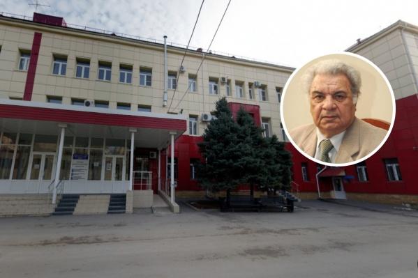 Минас Багдыков впервые внедрил эндоскопические методы лечения в практику городского здравоохранения