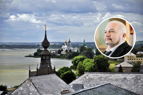 Андрей Лось пригласил блогера вместе прогуляться по Ростову Великому и пообещал, что на все вопросы у него найдутся ответы