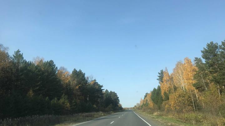 Ранним утром на дороге Тюмень — Ханты-Мансийск погиб мужчина