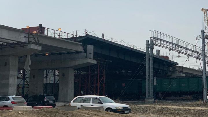 «Сибмост» закончил строительство эстакады на Восточном обходе