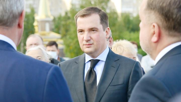 Александра Цыбульского избрали губернатором Архангельской области
