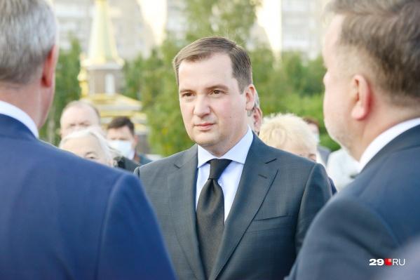 Следующие пять лет Архангельской областью будет руководить Александр Цыбульский