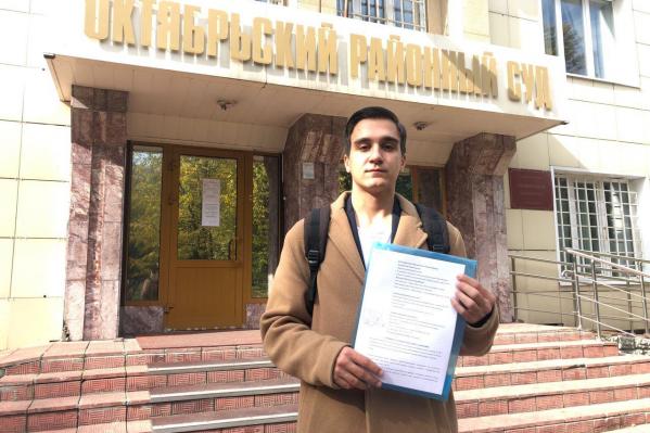 Вячеслав Якименко не согласен с результатами голосования на одном из избирательных участков