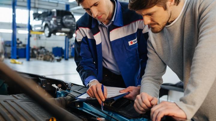 Весенняя проверка — 2020: владельцы Suzuki смогут пройти диагностику всего за 499 рублей