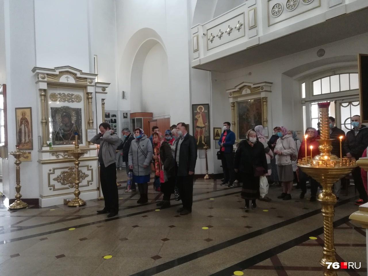 В Казанском монастыре Ярославля впервые прошел трезвеннический молебен
