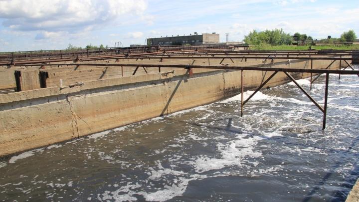 «Водоканал» предупредил о распространении по Сульфату запаха с очистных сооружений
