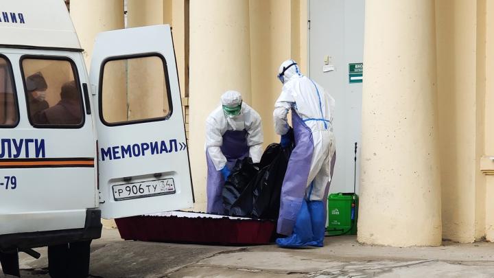 «Гроб только закрытый. Пакет с телом не открывать»: что творится в COVID-моргах Волгограда и почему родные ищут тела
