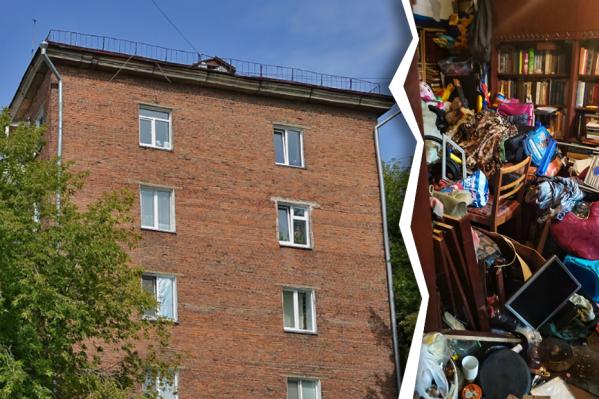 Квартира находится в доме на Гоголя, 229