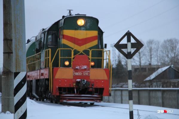 Поезда дальнего следования будут останавливаться только на станции Архангельск-Город<br>