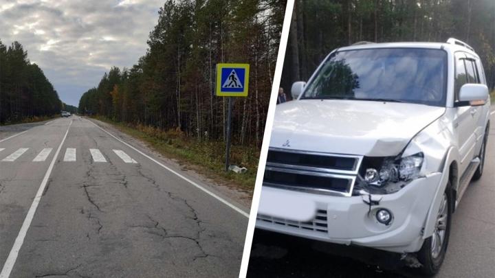 На автодороге из Архангельска в Онегу насмерть сбили 82-летнюю пенсионерку