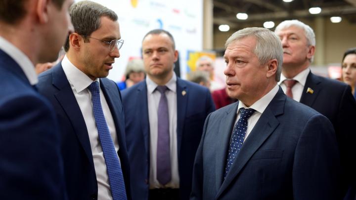 Губернатор Ростовской области посетил Агропромышленный форум Юга России