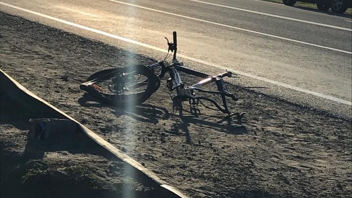 В Березниках иномарка насмерть сбила несовершеннолетнюю велосипедистку