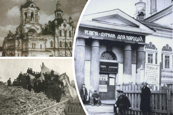 Молодая советская страна была атеистической, поэтому с духовенством особо не церемонились. Священники подвергались репрессиям, а имущество церкви забиралось на народные нужды