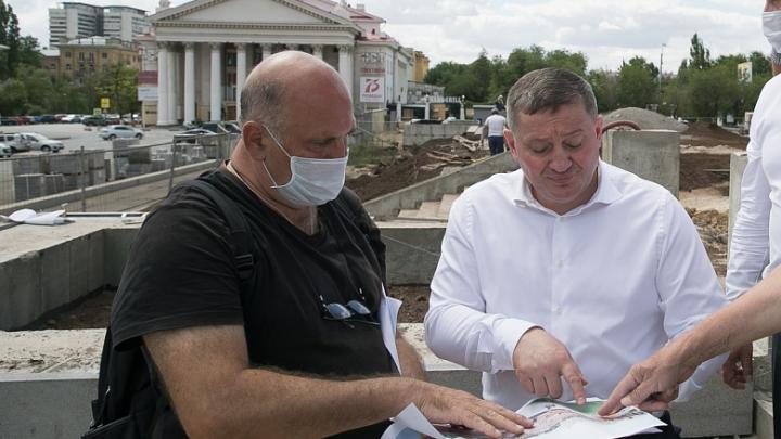 «Несколько вариантов решения»: губернатор объявил о реконструкции Аллеи Героев Волгограда