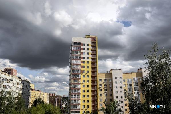 Первые дни августа в Нижнем Новгороде будут дождливыми