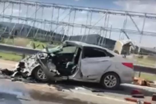 В аварии под Ростовом разбились три человека. Пострадал двухлетний ребенок