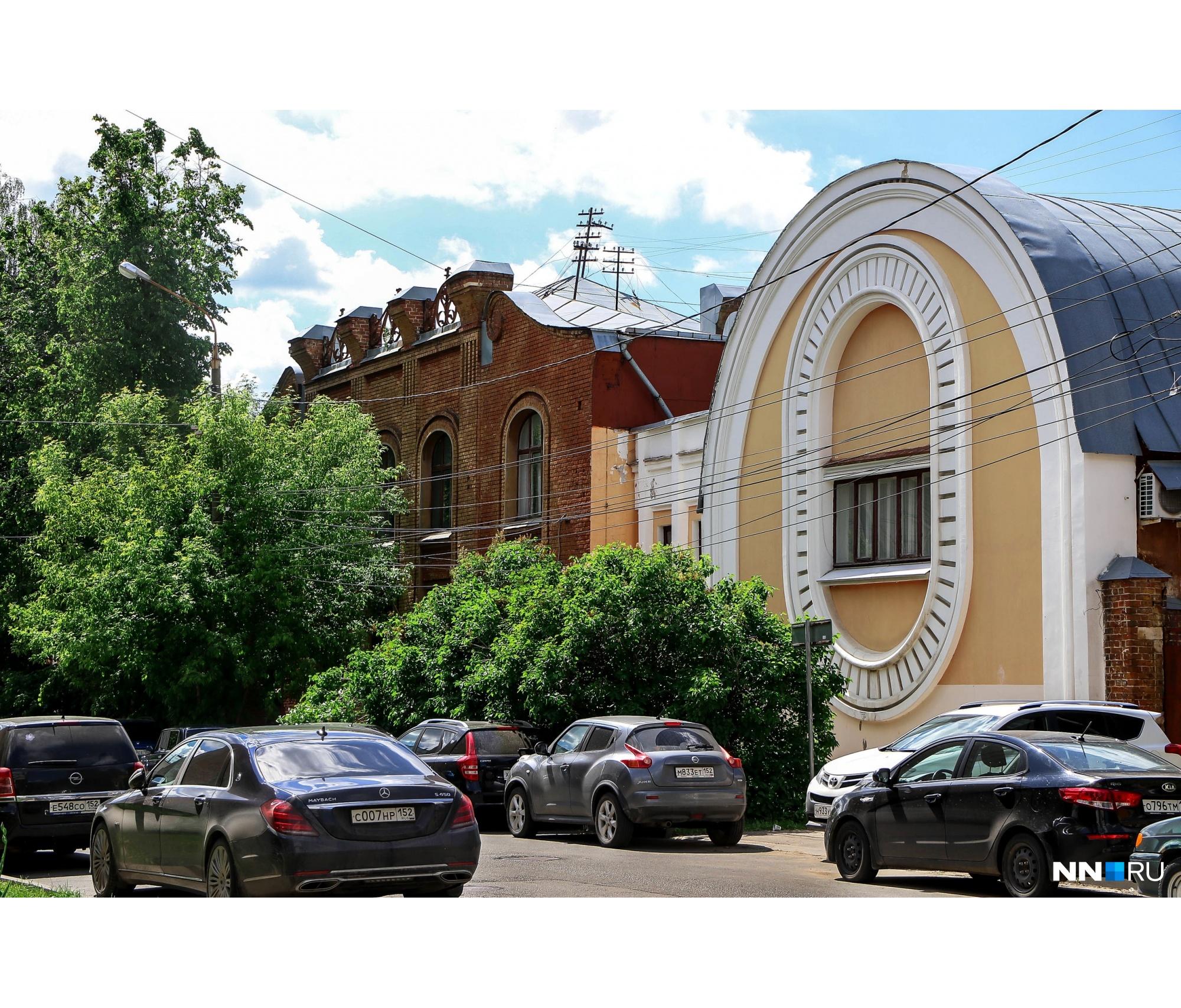 Бывшая усадьба Сергея Михайловича Рукавишникова