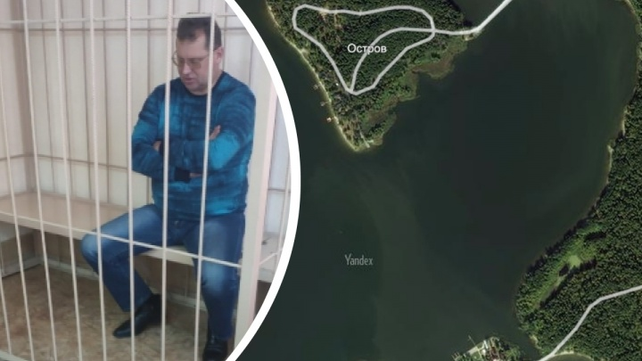 Главу Искитимского района, которого обвиняют в продаже острова, отправили под домашний арест