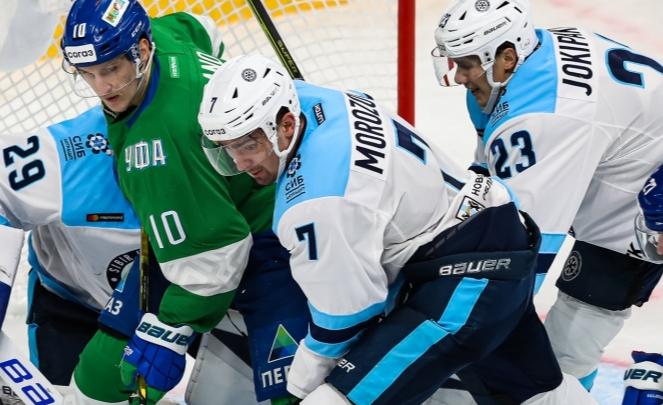 ХК «Сибирь» проиграл «Салавату Юлаеву» в гостевом матче