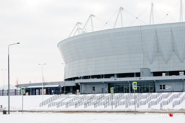 За право стать местом проведения финала «Арена» спорит с «Лужниками»