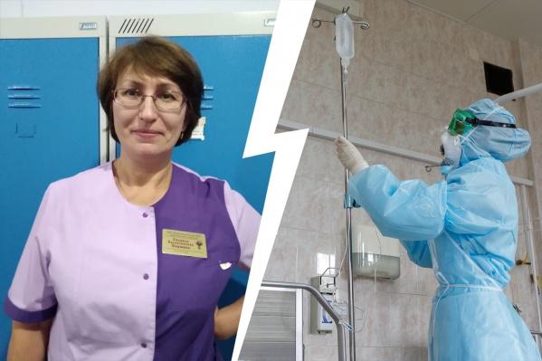 Больше 35 лет женщина проработала в хирургическом отделении