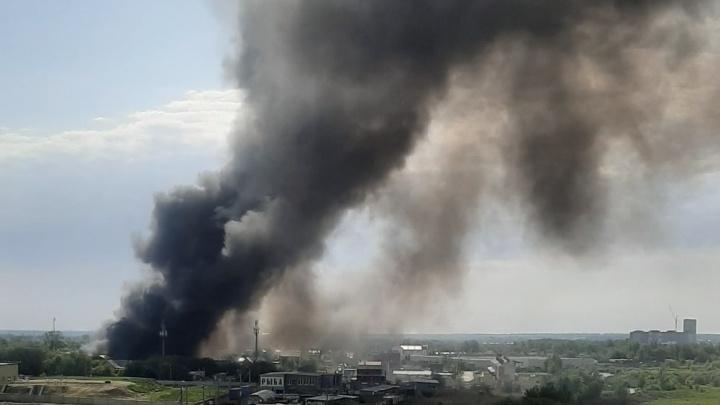 «Горело 11 домов!»: под Самарой произошел крупный пожар