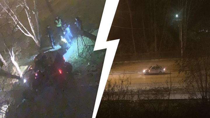 В Екатеринбурге мужчина навеселе пытался удрать от полиции на багги, но не смог
