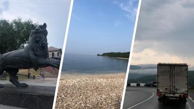 «Байкал — точно космос»: екатеринбуржцы на машине добрались до самого красивого озера страны