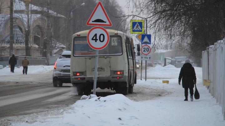 В Архангельске поднимут штрафы за сход автобуса с маршрута