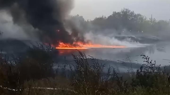 В Минлесхозе рассказали, когда ликвидируют мазутное озеро в Зубчаниновке