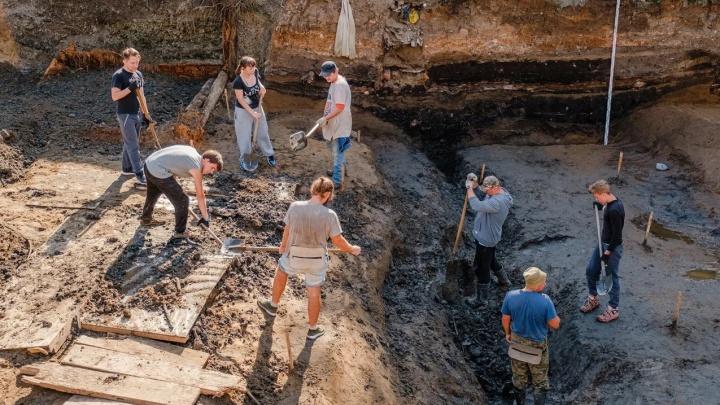 «Долгое время было загадкой». Археологи узнали, что было на территории «первогорода» в Перми в начале XVIII века