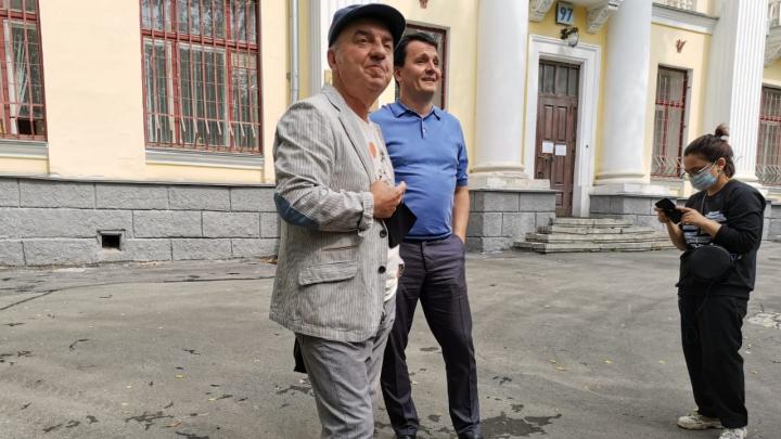 Владимир Шахрин представил проект реконструкции запущенного сквера в центре Екатеринбурга