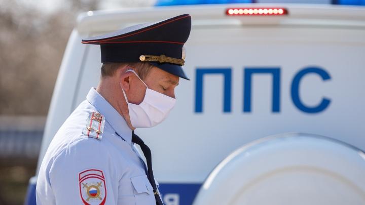 За день в Волгограде и области составили 18 протоколов на незаконно гулявших нарушителей изоляции