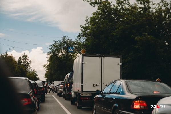 Водителей просят быть внимательными, выбирая маршруты следования
