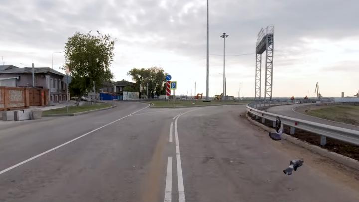 В Самаре откроют рабочее движение по развязке Фрунзенского моста