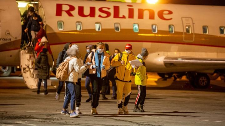 Дети, застрявшие в Киргизии из-за пандемии коронавируса, вернулись домой: фоторепортаж из Толмачёво