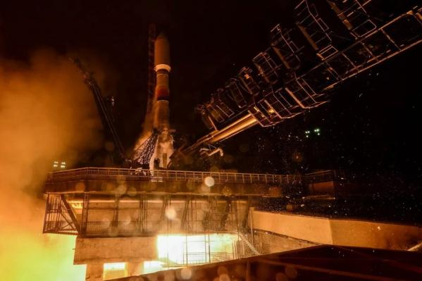 Ракету запустили в 4 часа и 14 минут сегодня, 3 декабря