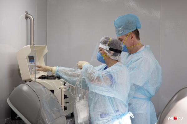 С донорами, перенёсшими коронавирус, в Челябинске сейчас работает только областная станция переливания крови