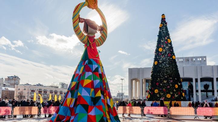 Блины и силовой экстрим. Публикуем программу празднования Масленицы в Перми