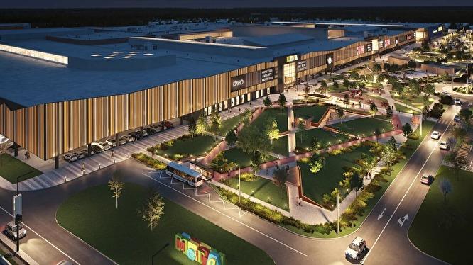 «Мега» станет больше на треть: публикуем проект новой очереди торгового центра